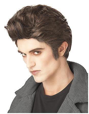 California Costumes Wigs Love at First Bite Wig Adult Sized Costumes, Brown, One Size US