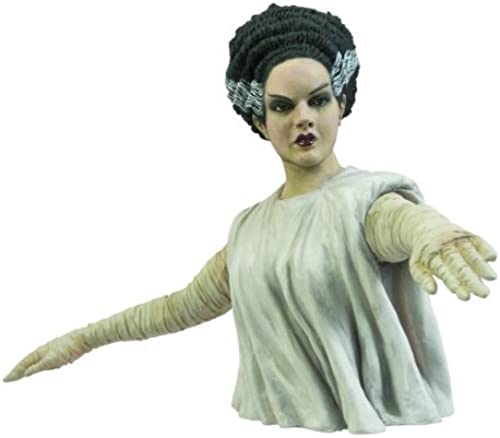 Diamond Select Toys Universal Monsters  Bride of Frankenstein Bust Bank by Diamond Select