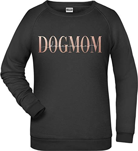 Siviwonder Dogmum Dobermann Damen Sweatshirt Hundemotiv Dobi Dobie Doberman Pinscher Größe M