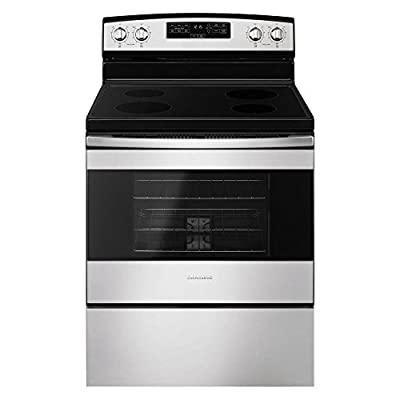 Amana 30 in. 4.8 cu. ft. Electric Range in Stainless Steel