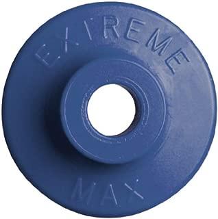 Extreme Max 5900.1197 Blue Round Plastic Backer - 48 Piece