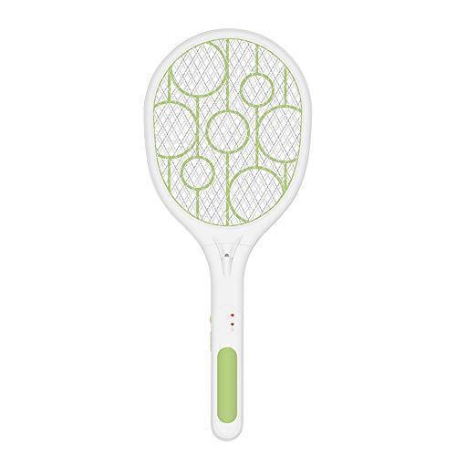 Kecheer mosquitos raqueta con LED,raqueta matamoscas electrica,antimosquitos zapper mosquito,mata moscas y mosquitos USB recargable