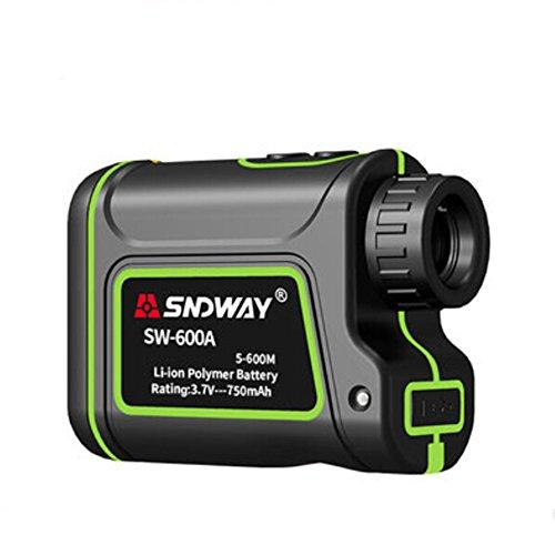 SNDWAY Golf Telémetro láser con Altura, ángulo, Horizontal