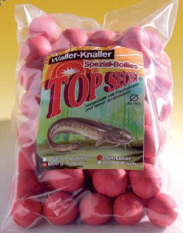 Top Secret Wallerboilies Knoblauch/Fisch 1000 g