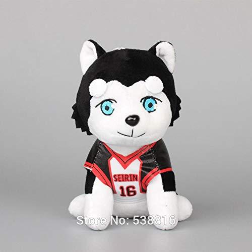 Kuroko No Basuke Seirin 16 Dog Plush Toy 7' 18cm Kuroko's Basketball Tetsuya NO.2 Stuffed Animals Kids Gift