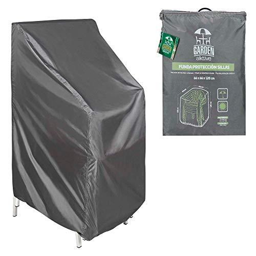 Aktive 61504 - Funda protectora para sillas 66x66x120x80 cm Garden