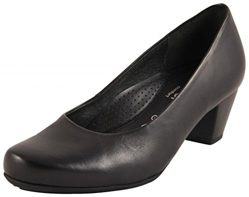 Gabor Shoes Damen Comfort Fashion Pumps, (schwarz 57), 39 EU