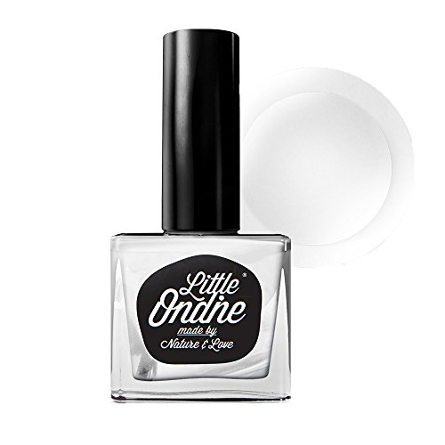 Little Ondine Anti-Chip Glossy No Smudge Top Coat + Peel Off Base Coat, Non-toxic Odorless Fast Dry All in One Base and Top Coat