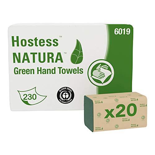 SCOTT* Toallas secamanos plegadas en Z 6019 - 230 hojas de 1 capa verdes por paquete (la caja contiene 20 paquetes)
