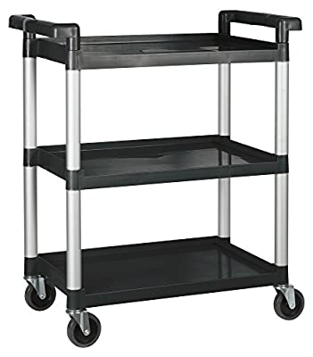 Winco Utility Cart, Black from Winco