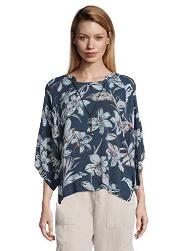 Cartoon Damen 8409/7666 Tunika-Shirt, Dark Blue/Light Blue, S