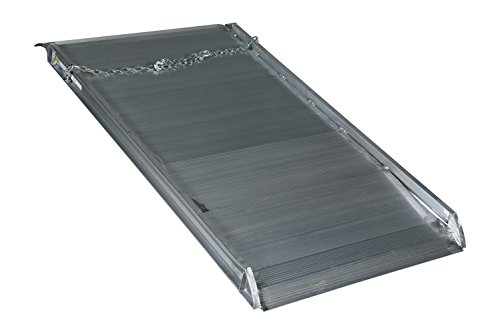 "Vestil AWR-38-6A Aluminum Walk Ramp Overlap Style, 2800 lb, 72"" Length, 38"" Width, 4.75"" Height"