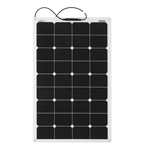 Offgridtec® ETFE 80W 12V Semiflexibles Solarmodul BackContact Hochleistungszellen …