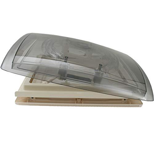 MPK VisionVent M - Campana de techo para caravana (40 x 40 cm, incluye estor y red para grosores de 42-70 mm): Amazon.es: Coche y moto