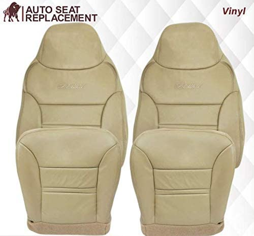 40% OFF Cheap Sale 2000 2001 Ford Super sale Excursion Leather Ex Replacement Seat Cover
