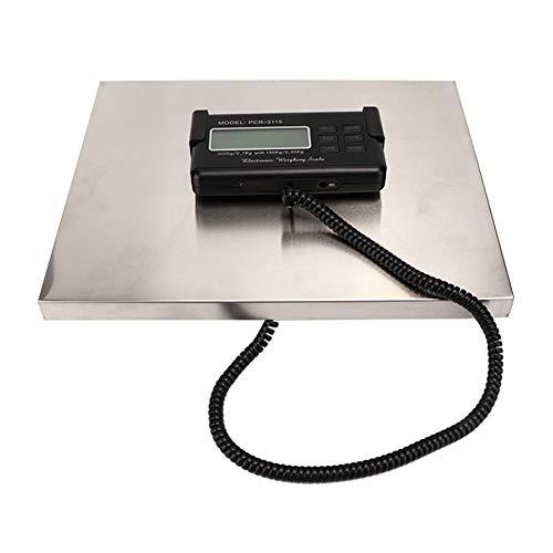 Estink - Báscula electrónica postal digital, pesada profesional, pesa, paquete para escritorio de correos, capacidad y precisión: 150 kg/0,05 kg, 300 kg/0,1 kg