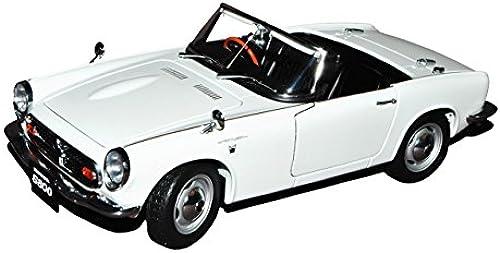 AUTOart Honda S800 Roadster Weißs 1966 73278 1 18 Modell Auto mit individiuellem Wunschkennzeichen
