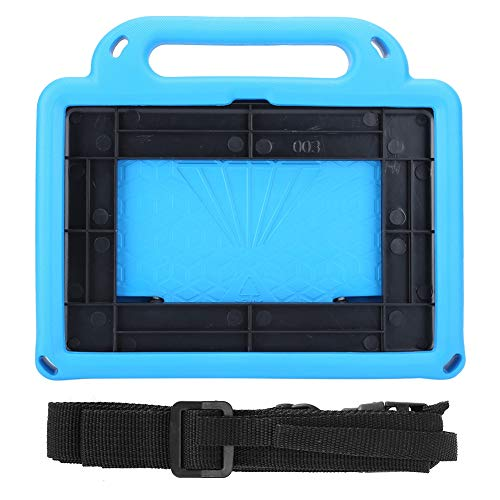 Zouminyy Durable Tablet Protective Shell, Tablet Protector, Adjustable Kid‑Friendly Blue Kid for Fire Hd 8 & 8Plus 2020 Tablet