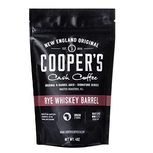バレルエイジドコーヒー ウイスキー樽熟成 シングルオリジン 113g 豆のまま (ライ/エチオピア産)