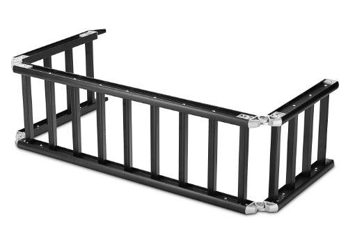 ReadyRamp I-Beam Full-Sized Bed Extender/Ramp Black 100' Open 60' on Truck