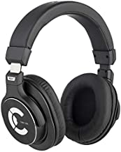 Over-Ear Headphones for Studio Recording Tracking Mixing Podcast Production, Digital Piano, Closed Back Comfortable DJ Earphones, Featuring 45mm Drivers and Isolating Earcups