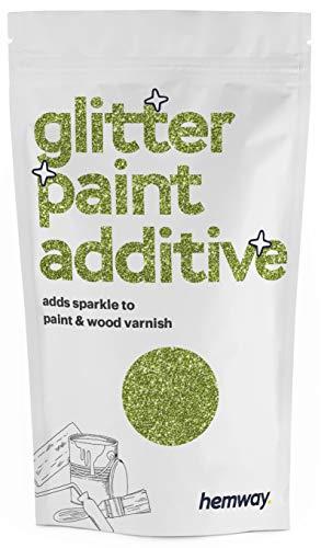 Hemway - Aditivo brillante para pinturas de emulsión a base de agua - Verde lima - 100 g