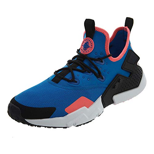 Nike Men's Air Huarache Drift Running, Blue Nebula/Black-Black-White, Size 8.5