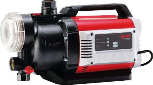 AL-KO JET 5000 Comfort Gartenpumpe 5bar 4500l/h 1300W - Wasserpumpen (Garten, Schwarz, Rot, Weiß, 5 bar, 50 m, 4500 l/h, 8 m)