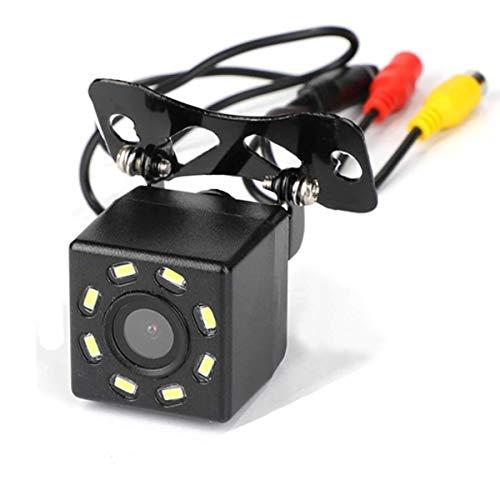 DUTTY Cámara de visión Trasera de Coche, cámara de Marcha atrás de Aparcamiento de Reserva de visión Nocturna de 8 LED, Impermeable, 170 Gran Angular, Imagen en Color HD