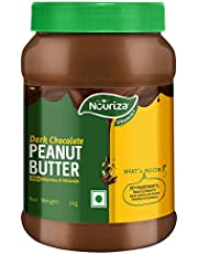 Nouriza Dark Chocolate Peanut Butter Spread with added Vita