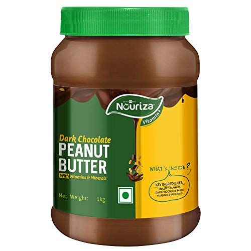 Dark Chocolate Peanut Butter Spread (Vitamin & Mineral 1Kg (35.27 Oz)