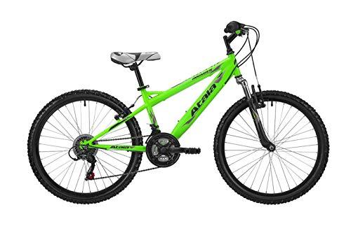 Atala Bici Mountain Bike MTB Bimbo Invader Ruota 24' 18V Colore Verde 2019