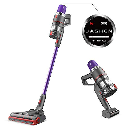 Buy Cheap JASHEN V16 Cordless Vacuum Cleaner, 350W Strong Suction Stick Vacuum Ultra-Quiet Handheld ...