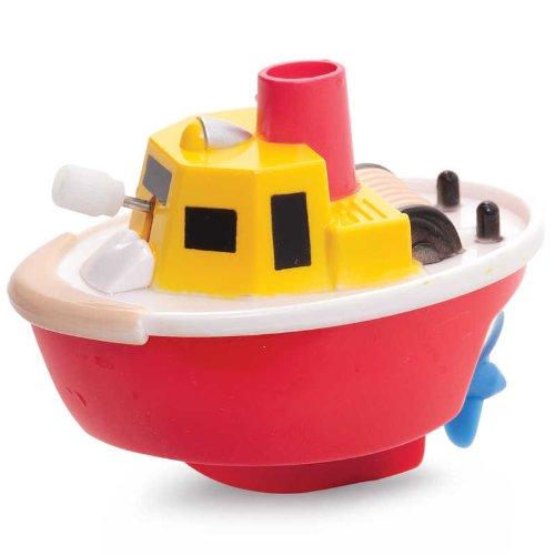 Tobar vento barca Cruiser 4 disegni Clockwork regalo giocattolo tradizionale nuovi per bambini