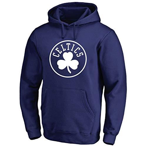 Sudadera con Capucha de Baloncesto para Hombre, Boston Celtics Training Ropa Fans de Manga Larga Sweatshirt Suéter Unisex Mejor Regalo de cumpleaños S-3XL (Color : H, Size : 3XL)