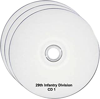 29th Infantry Division WW2 RESEARCH CD OF BOOKS, INFO, FILES, REPORTS, NARRATIVES, HISTORY 3CDs
