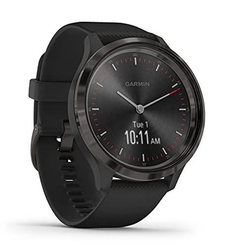 Garmin vívomove 3 – stilvolle Hybrid-Smartwatch mit analogen Zeigern & OLED-Display, Sport-Apps und Fitness-/Gesundheitsdaten, wasserdicht, 5 Tage Akkulaufzeit, Fitness Tracker, connected-GPS
