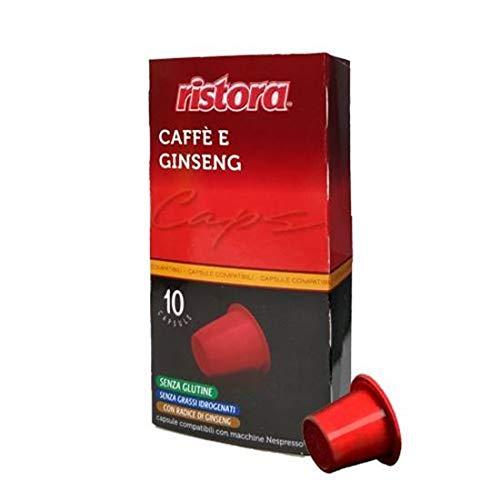 120 Capsule Compatibili Nespresso Ristora Caffe' E Ginseng