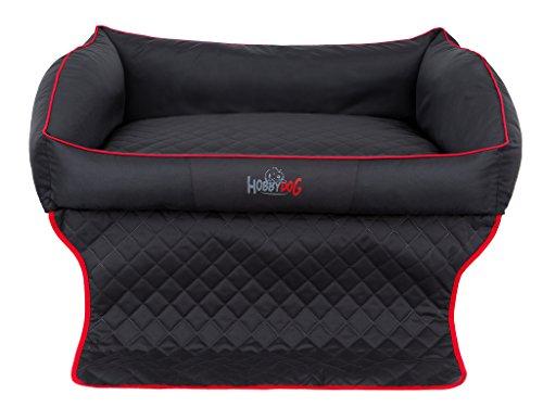 Hobbydog R1 ROTCZA4 Royal Trunk Das Lager/Bett, Die Couch für einen Hund Zum Kofferraum, 90 x 70 cm, M