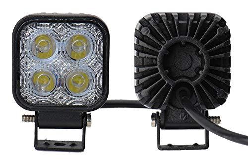 Yunt 2 X 12W LED Lampe Square Scheinwerfer Kaltwei? Spot IP67 Arbeitsscheinwerfer from Deutsche Lokal Warenhaus