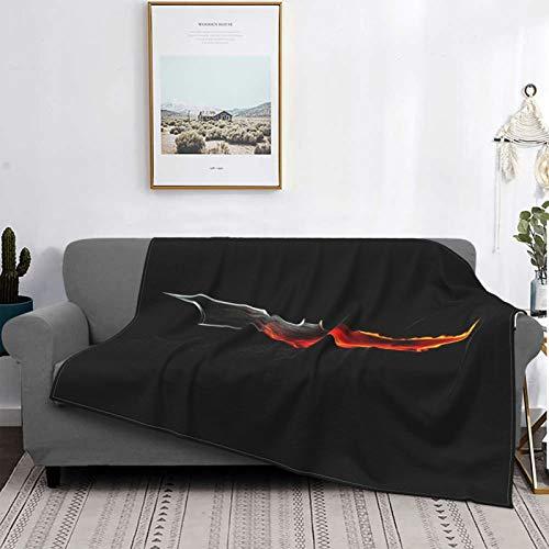 Why So Serious Joker Batman, mantas de franela de microfibra, súper suave, mullida, cálida manta para camas y sofás múltiples, 125 x 150 cm