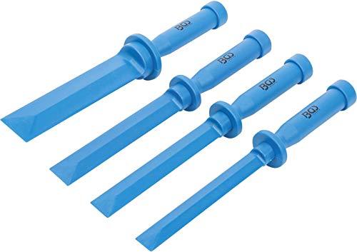 BGS 366 | Kunststoff-Schaber-Satz | 4-tlg. | 19 - 22 - 25 - 38 mm breit | Klebegewicht-Entferner | Schaber zur Entfernung von Klebeelementen