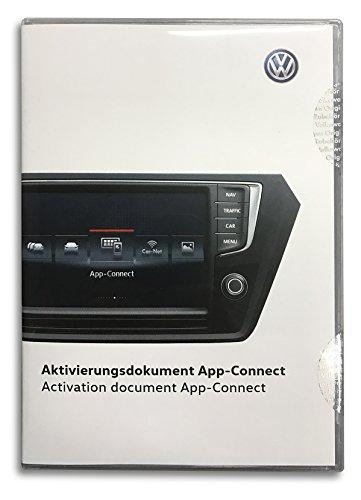 Volkswagen Original VW Aktivierungsdokument App-Connect MirrorLink Apple CarPlay PKW