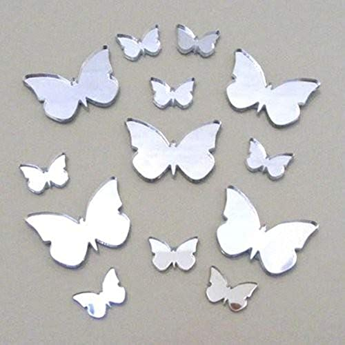 Super Cool Creations 13 Butterfly Mirror - 2 Sizes – five 6cm, eight 3