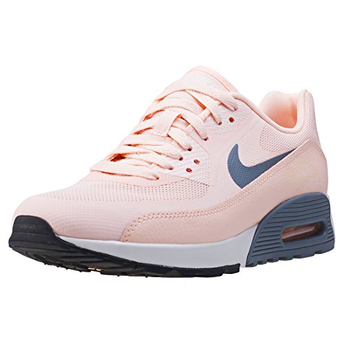 Nike W Air MAX 90 Ultra 2.0, Zapatillas de Gimnasio Mujer, Rosa Sunset Tint Cool Grey Summit White Black, 38 EU