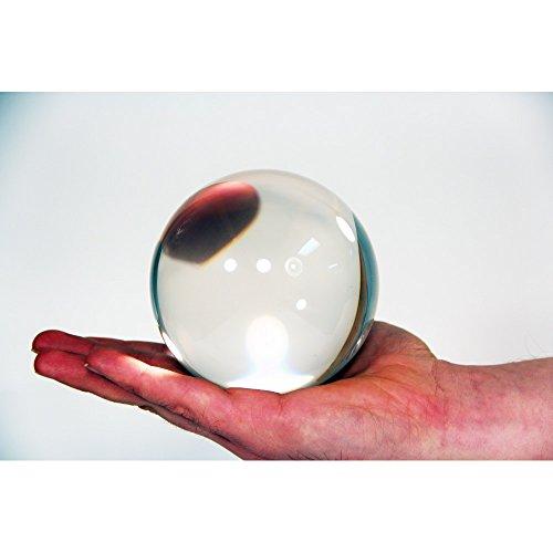 Zeekio Clear Acrylic Contact Ball - 100mm - Approx. 4'