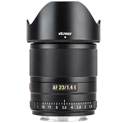 VILTROX AF 23mm F1.4 Autofokus Objektiv für Sony E Mount Kameras(APS-C Format, Augen AF, einstellbare Blende f1.4-f16)