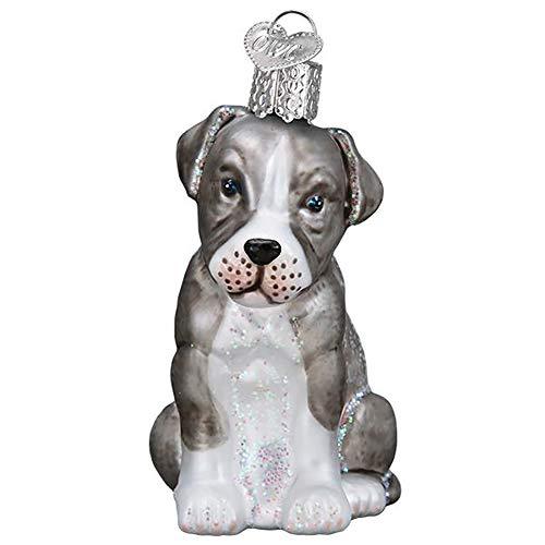 Old World Christmas Pittbull Pup