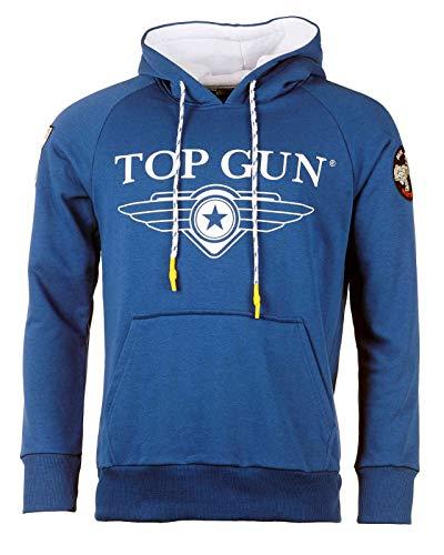 Top Gun Herren Kapuzenpulli Destroyer Blue,3XL