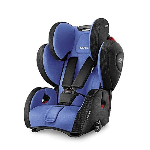 Recaro Young Sport Hero, Silla de coche grupo 1/2/3, azul
